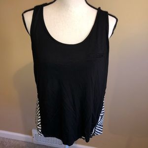 Dressy patterned tank top